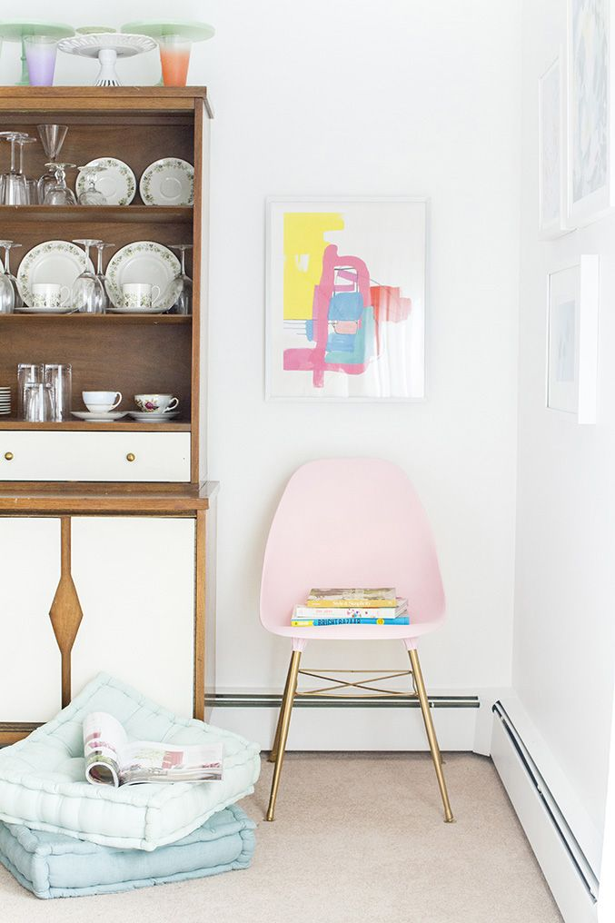 Thrifted Side Chair Makeover Combo