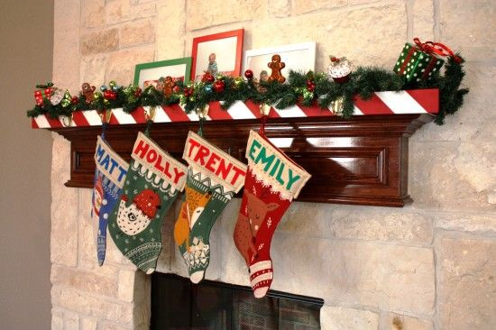 Traditional Christmas Stocking Holder