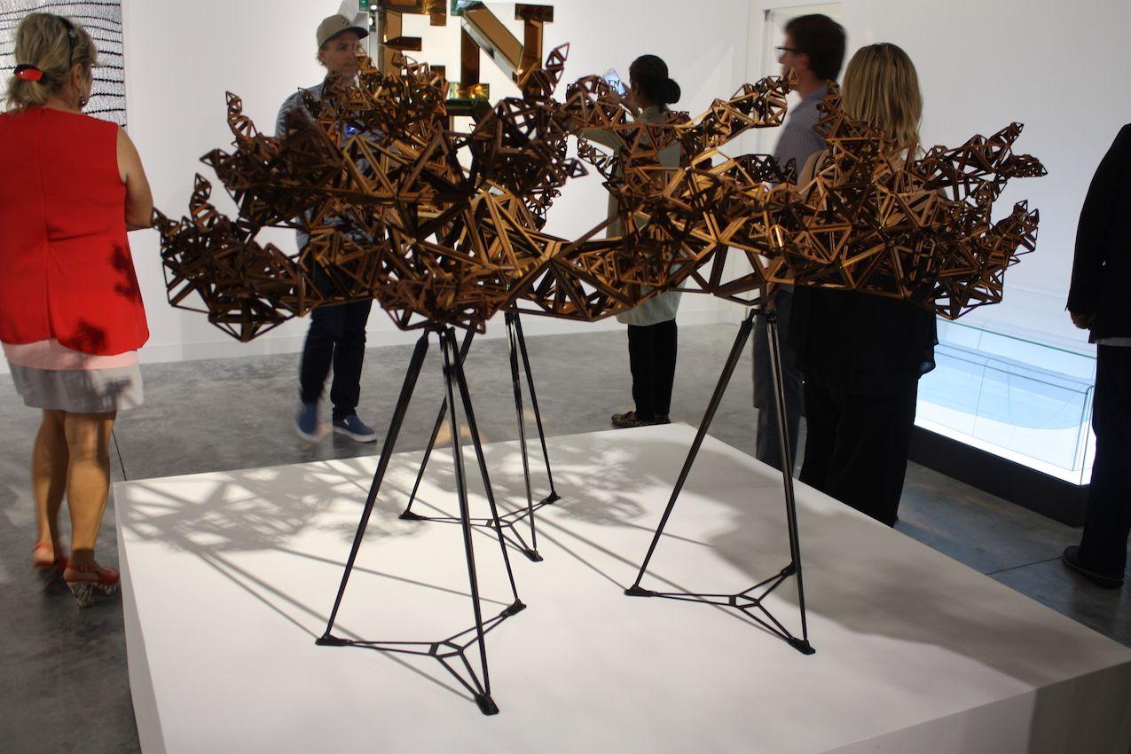 Victoria Maro Gallery Weathering Steel