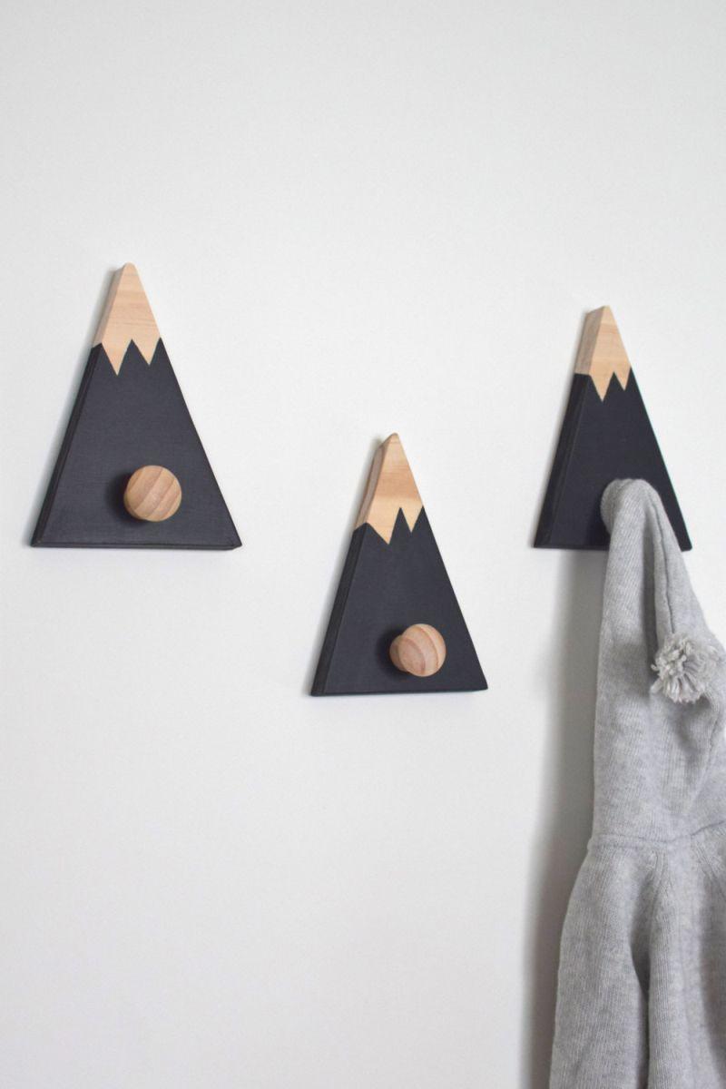 Wall hooks for kids