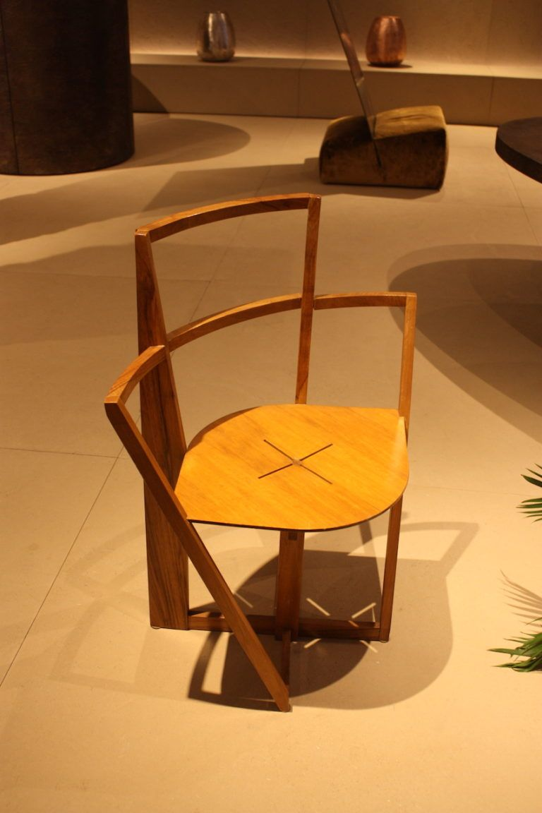 Dalisi's chair is fine example of modern hand craftsmanship.