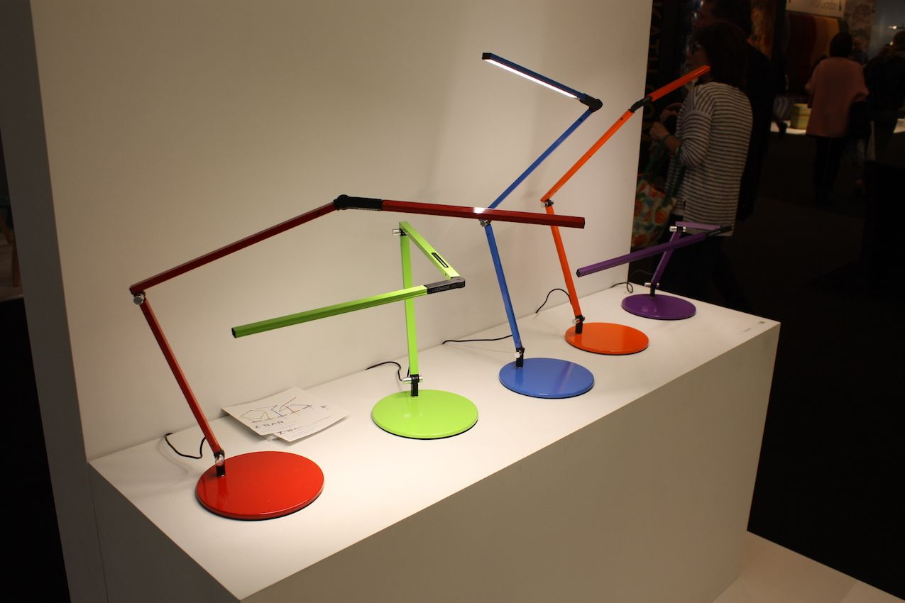 The Z Bar is a very versatile lamp, with its ability to direct light in different directions.