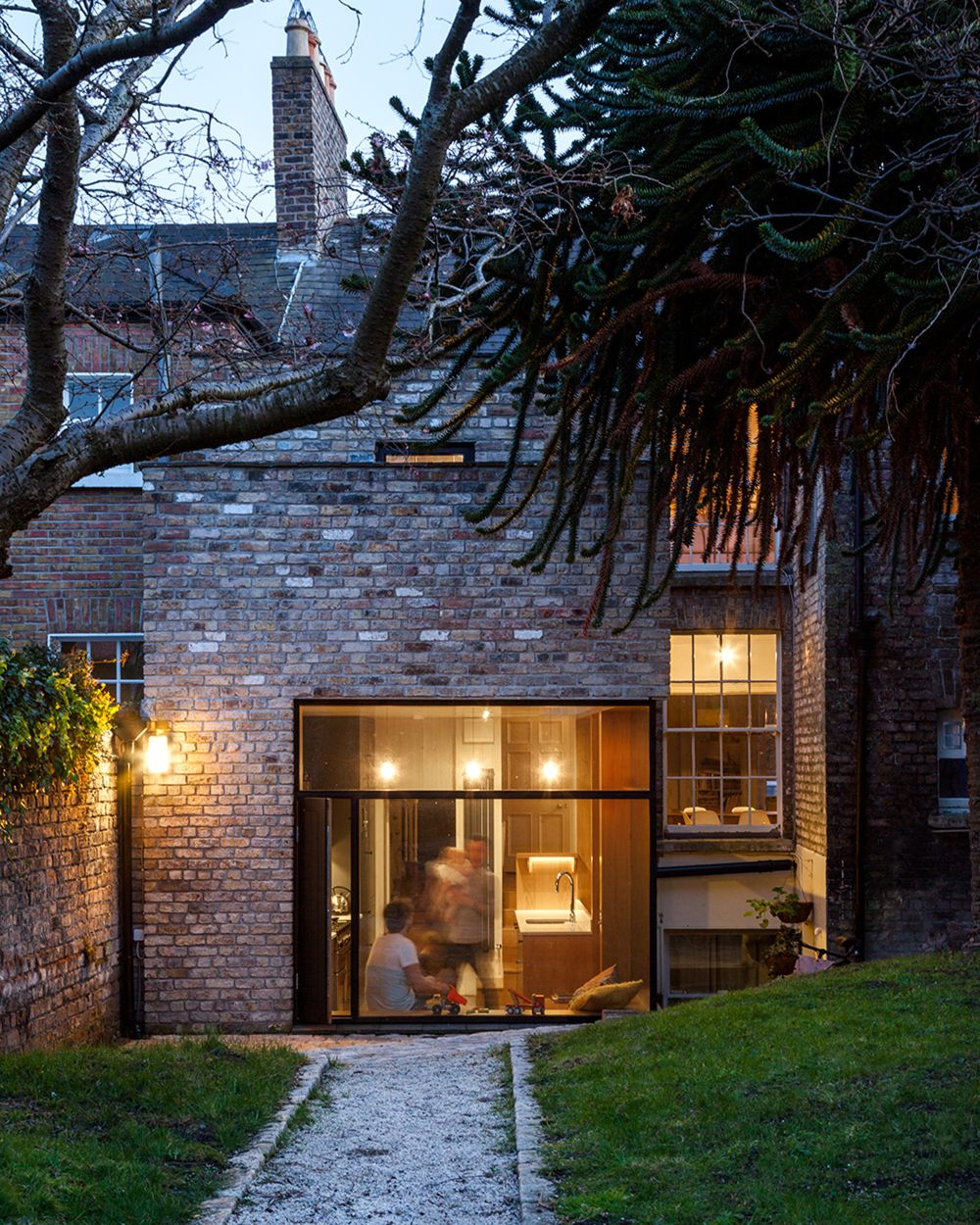 A brick extension in Ireland Design