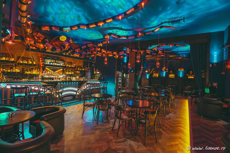The Abyss Pub Inspired By The Mysteries And Dangers Of The Sea