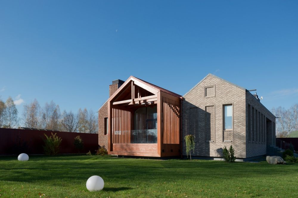 Architecture The Shatura House in Russia