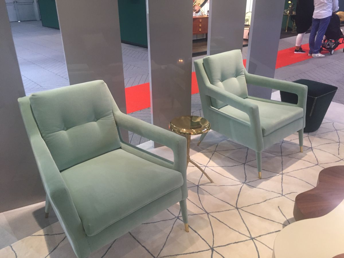 Accent Colors For Sage Green Armchairs in Sage Green Color