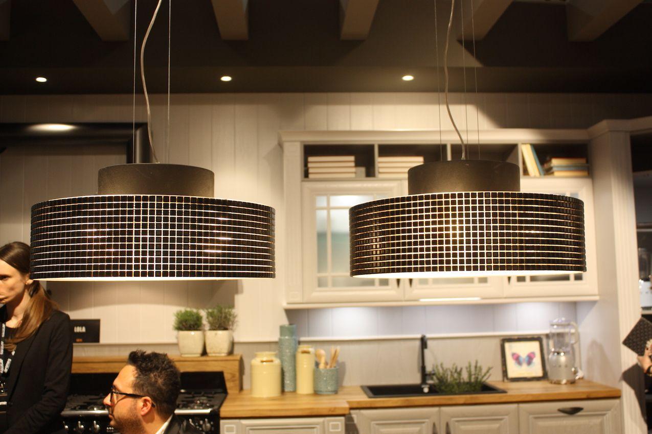 Arrex geometric drum lights