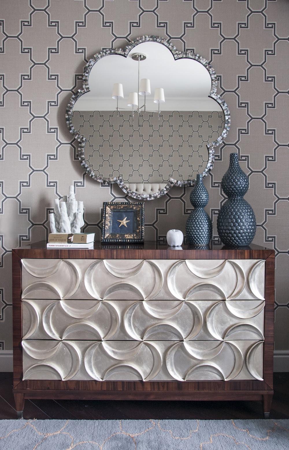 Art decor apartment bedroom dresser
