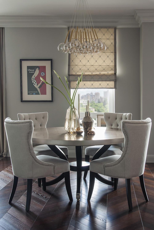 Art decor apartment dining table