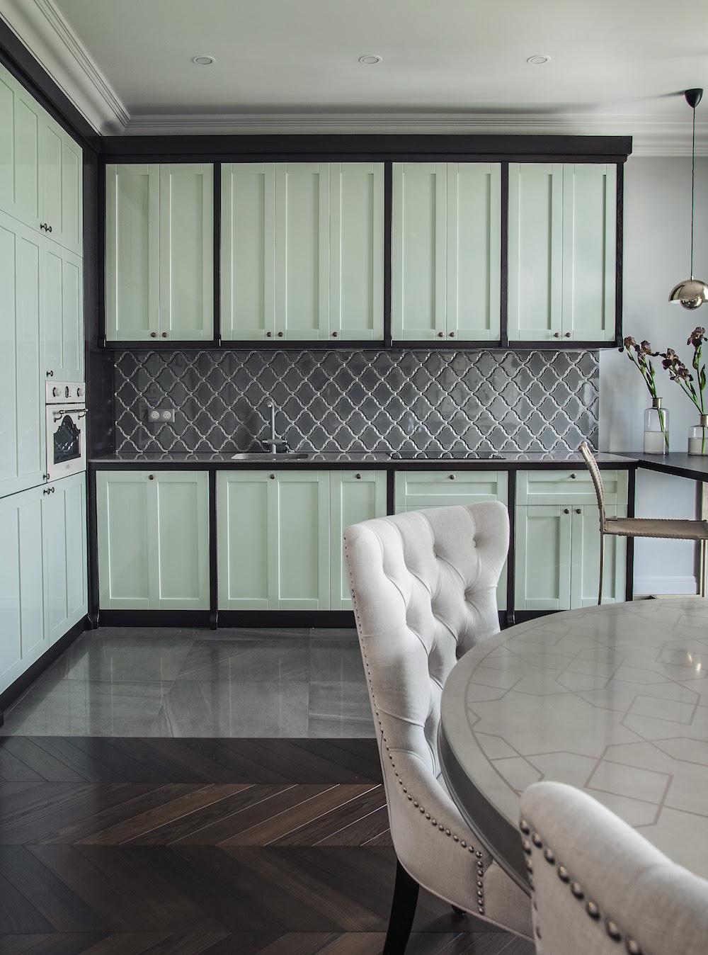 Art decor apartment kitchen furniture