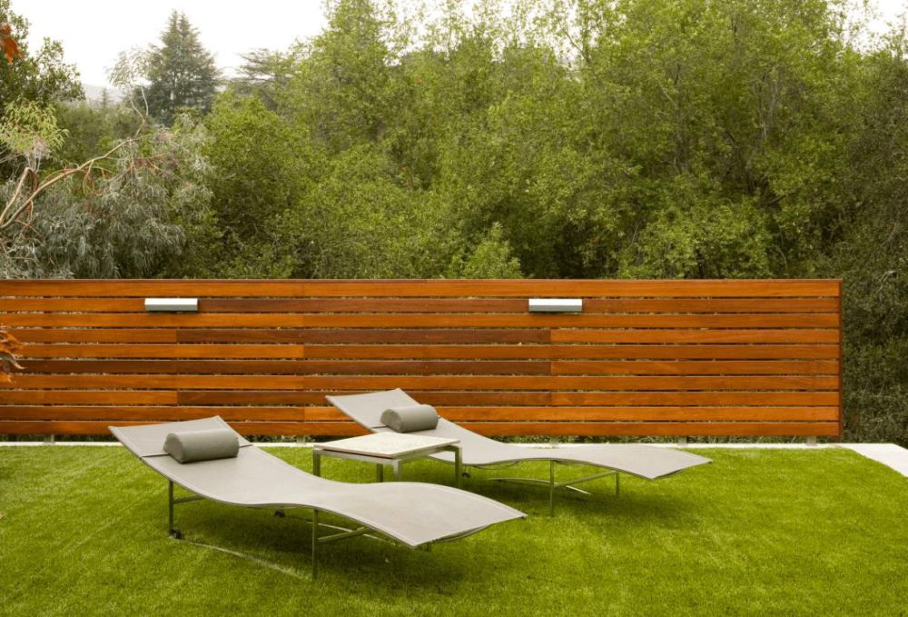 Wood Fence Styles Designs How a horizontal wood fence can impact the landscape and dcor around it workwithnaturefo