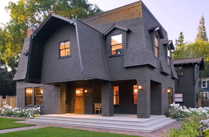 the latest comeback of the mansard roof and its unusual