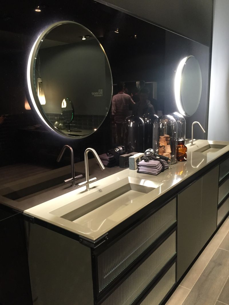 Beautiful modern double sink vanity