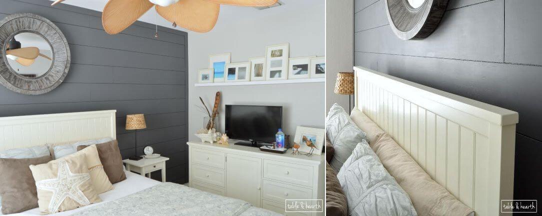 Bedroom Shiplap design
