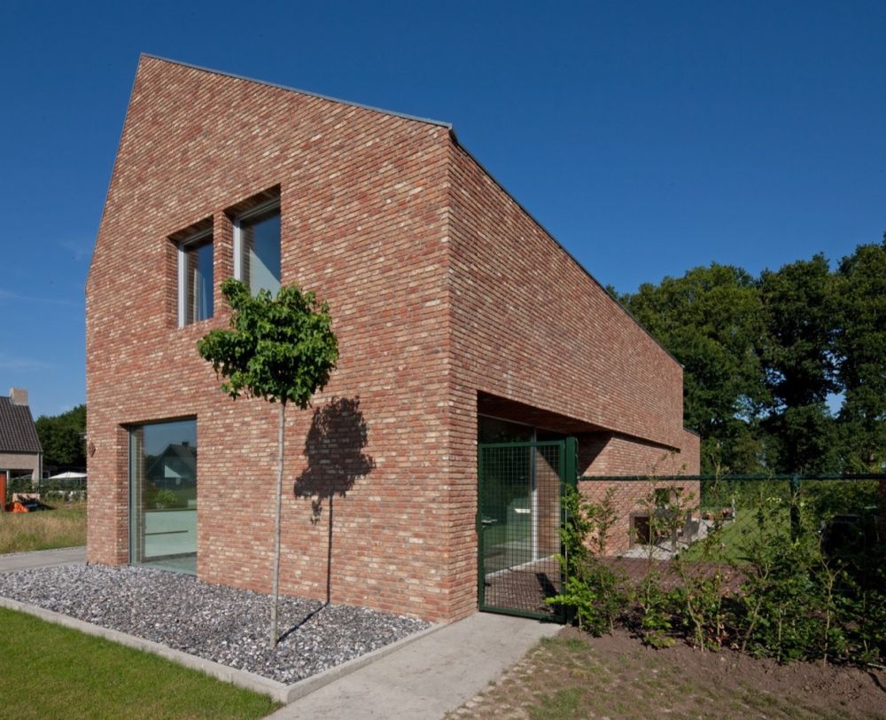 Brick architecture The Riel Estate project in The Netherlands
