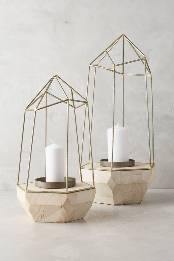 Buy faceted candle holder
