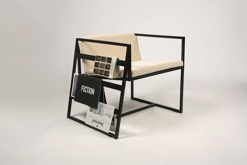 Contemporary Chair - Frame design with storage