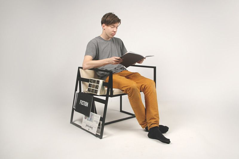 Contemporary Chair - Frame design