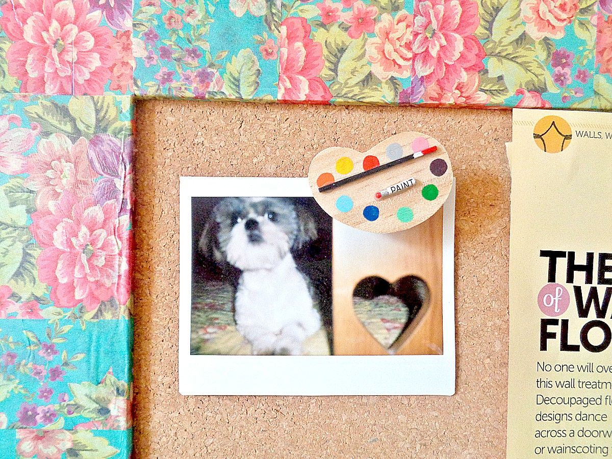 Diy wooden framed cork board view in gallery jeuxipadfo Image collections