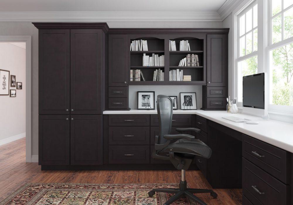 Espresso Home Office