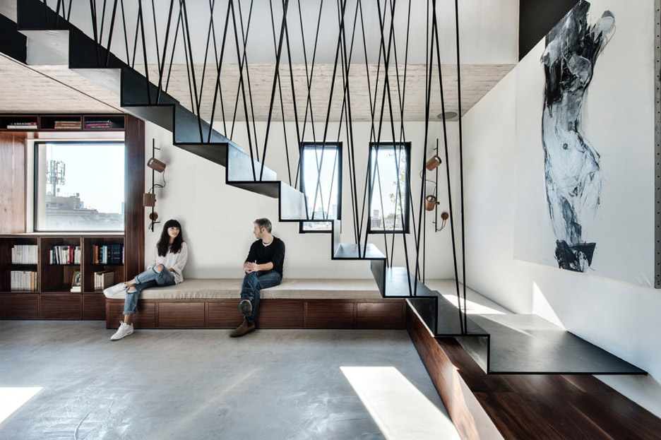 Charming Suspended Stairs Gallery