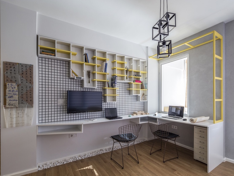 Kiev Levent apartment home office