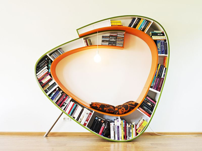 Large Seating with Books Storage