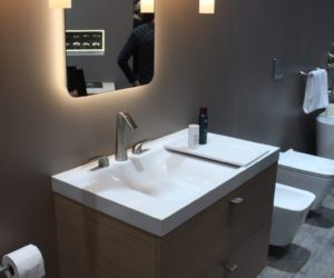 Bathroom Trends At IDS Feature Tubs And Compact Fixtures - Latest bathroom sink trends