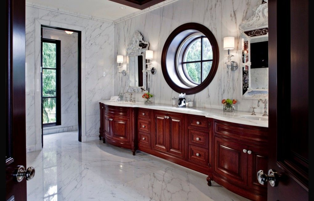 Bathroom Marble Floor when and where can marble floors become an elegant design feature