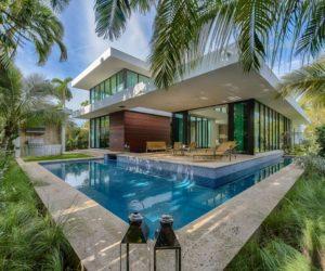 Lavish Oasis On Miami Beach Combines Minimalism With Eccentric Details