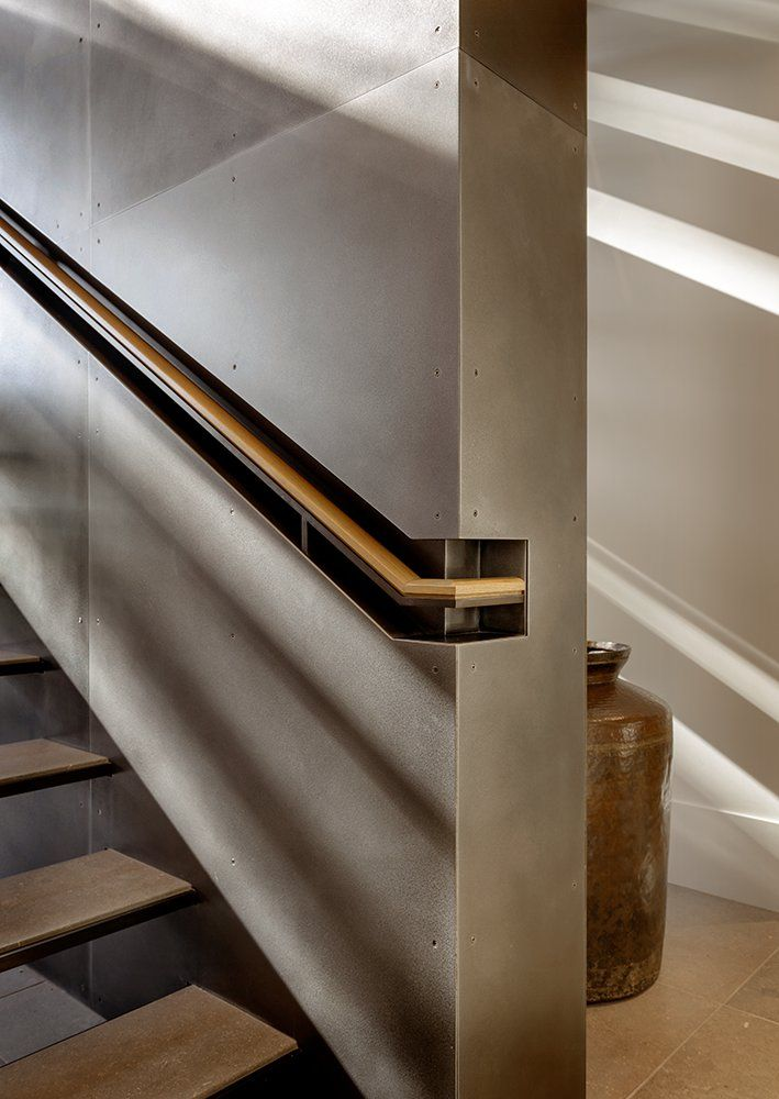 Modern and industrial handrail