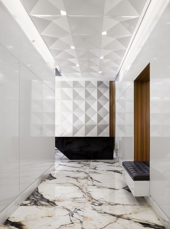 Marble Floors Become An Elegant Design