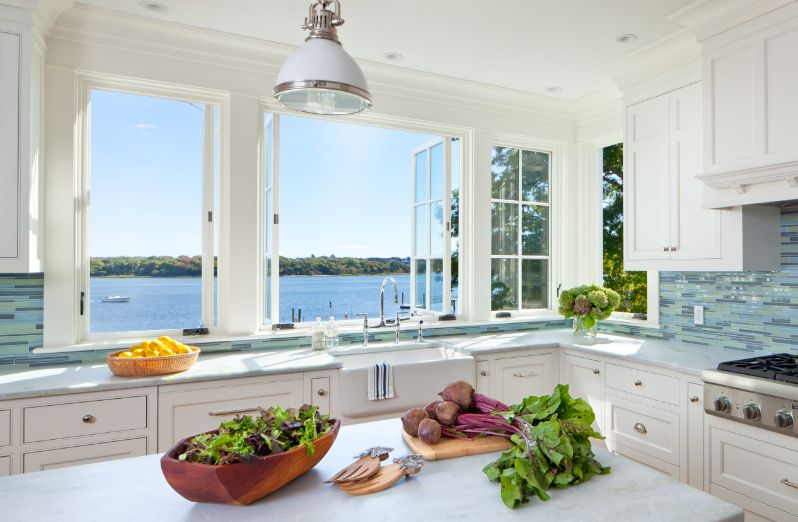 Merveilleux A Fresh Perspective: Window Backsplash Ideas And The Designs Around Them