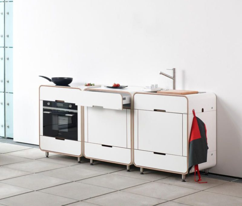 Small And Compact Kitchens – Just What Tiny Apartments Need