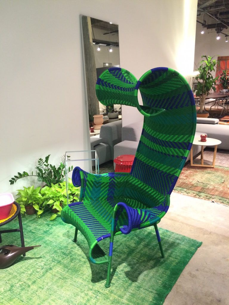 Tim Burton-esque outdoor chairs from Moroso.