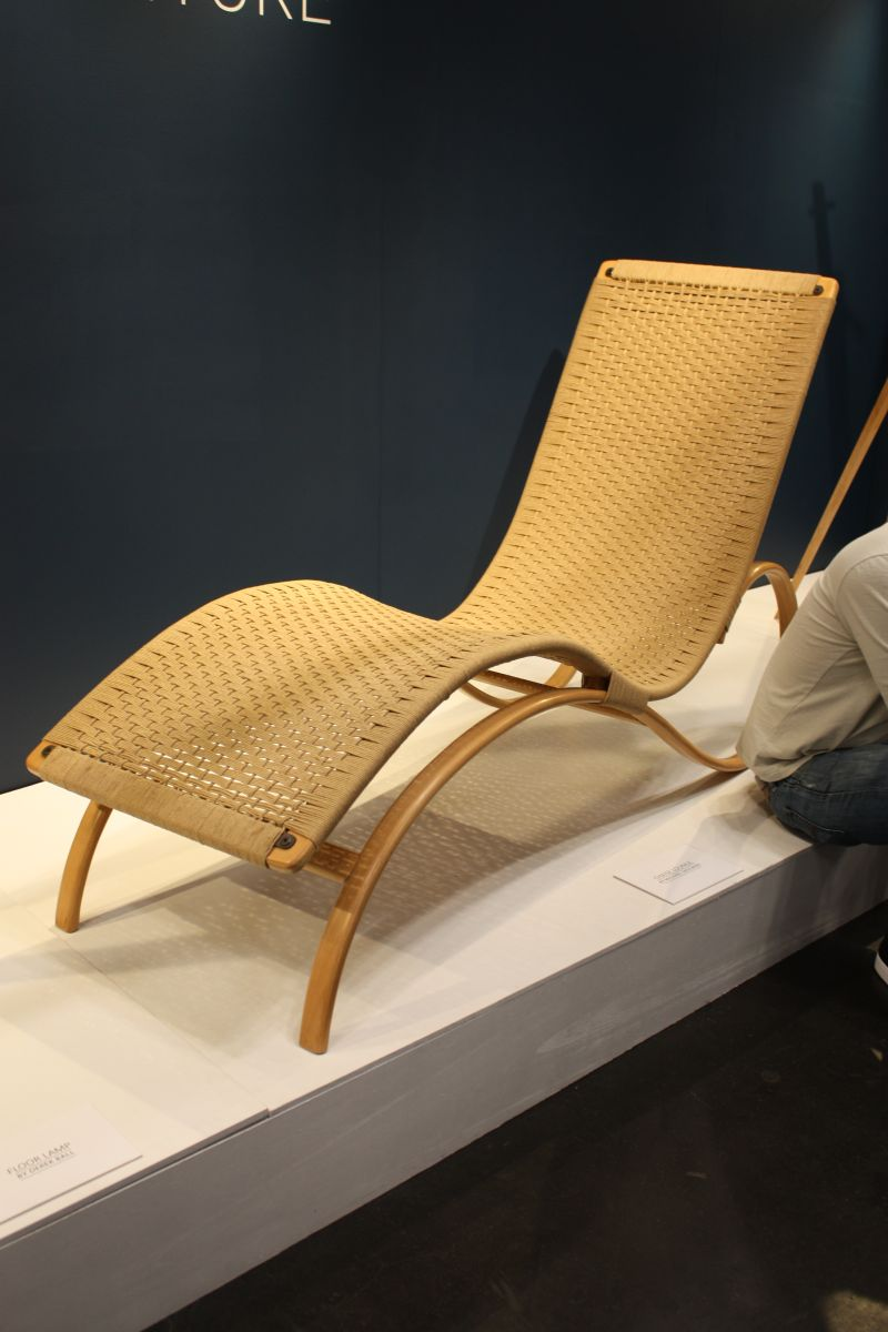 Natural Materials Lounge Chair
