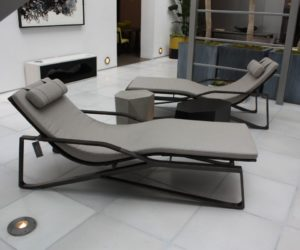 the first lounge chair is dated to and was designed in hungary by marcel breuer later that year le corbusier also started producing similar lounge