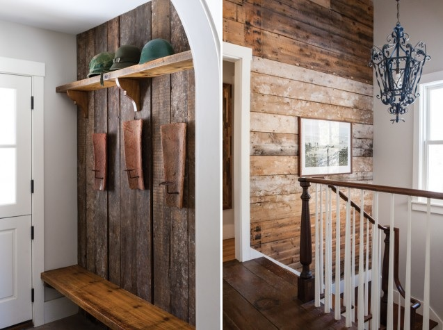 Perfect Reclaimed Shiplap Walls