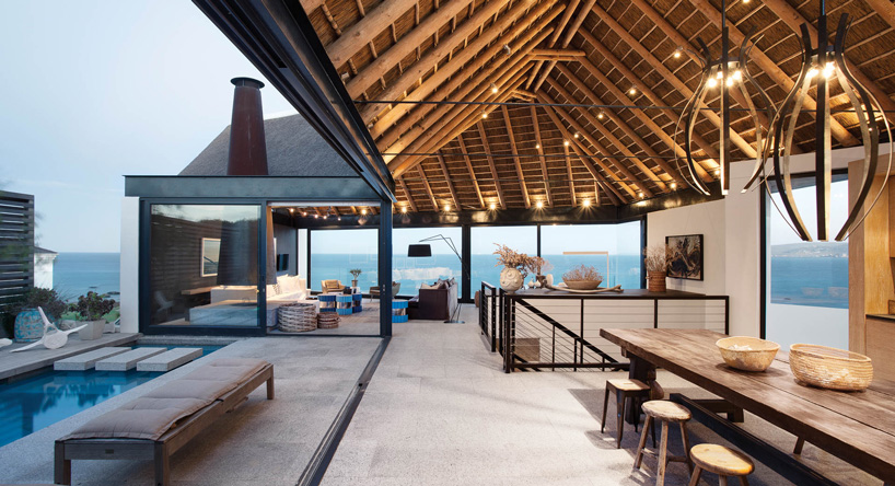 buildings that know how to make a thatched roof look modern rh homedit com