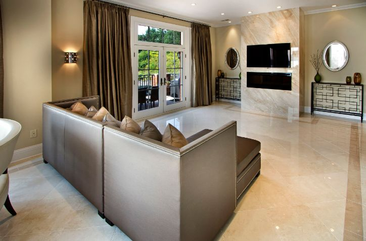 Living Room Marble Floor When And Where Can Marble Floors Become An Elegant Design Feature