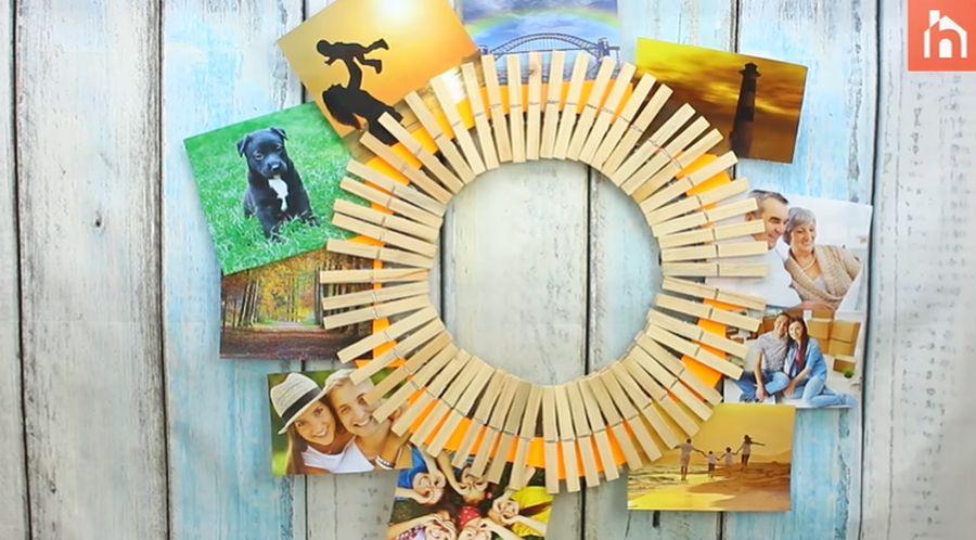 Repurposed Clothespins