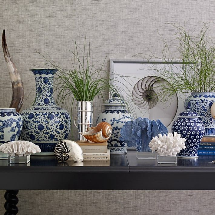 Blue Living Room Vases
