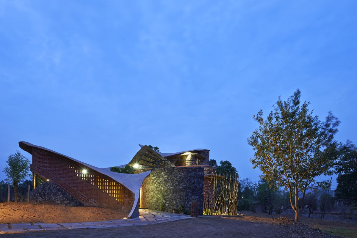 The Brick House in India Design
