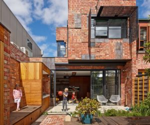 Brick Houses That Form A Bridge Between Past And Present