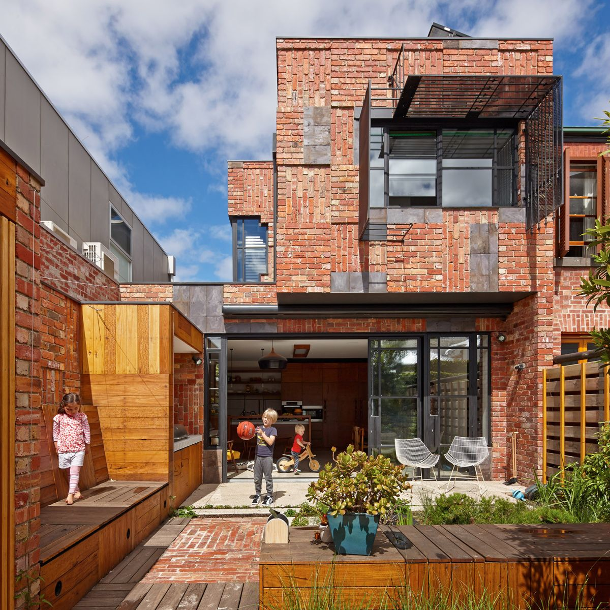 The Cubo House in Australia
