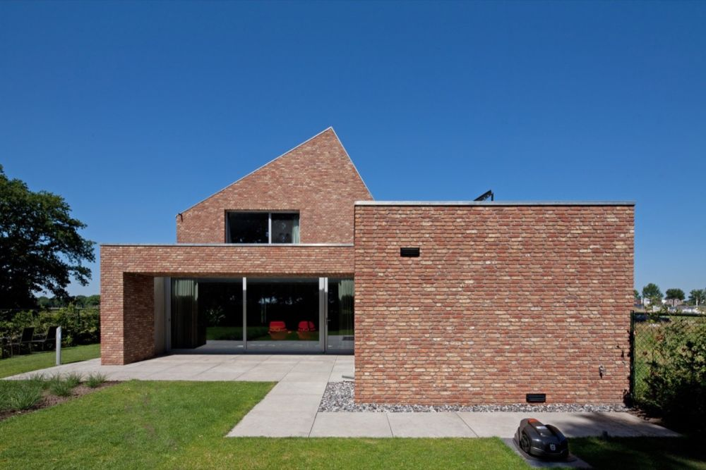 The Riel Estate project in The Netherlands with a modern Architecture