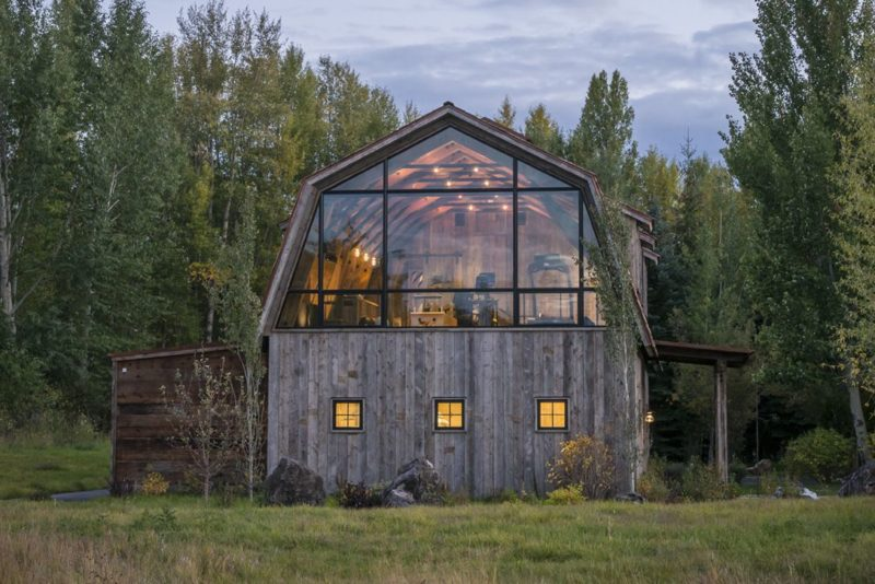 Old Hay Barn Converted To A Modern Guest House Filled With Light