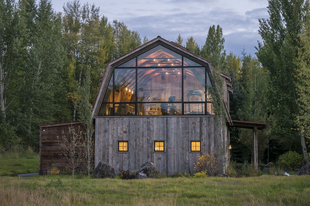 Modern guest house Garden Homedit Old Hay Barn Converted To Modern Guest House Filled With Light