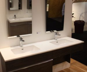 Bathroom Vanity Trends 2017 bathroom trends at ids 2017 - feature tubs and compact fixtures
