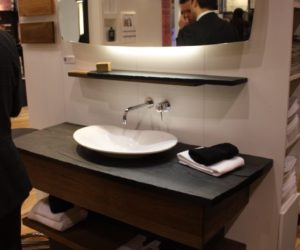 Bathroom Fixtures Trends 2017 bathroom trends at ids 2017 - feature tubs and compact fixtures